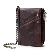 Mens Leather Genuine Wallet Man Leisure Purse Men Wallets Handbag Purses And Handbags Mini Bag