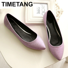 TIMETANG Women Flats Shoes Fashion Casua