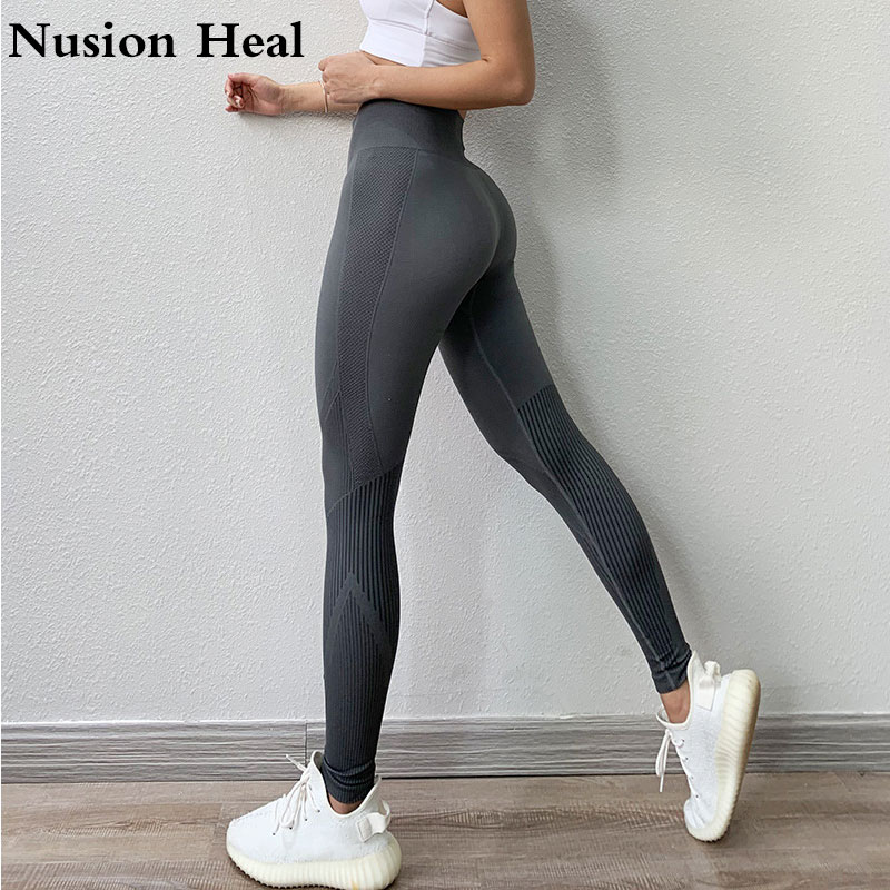 High Waist Fitness Legging Tummy Control Energy Seamless Leggings Booty Workout Running Activewear Yoga Pant Women Gym Leggings