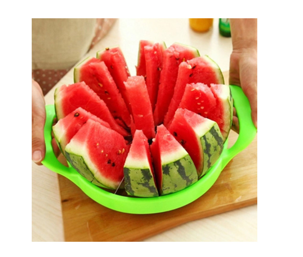 Stainless Steel Cut The Watermelon Useful Product Splitter Fruit Cutter Kitchen Household Multi-functional Coring Slicer Wholesa