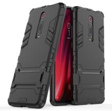 Conelz For Xiaomi Mi 9T Shockproof Armor Case Stand Holder Protective Back Cover for Pro 9 9SE