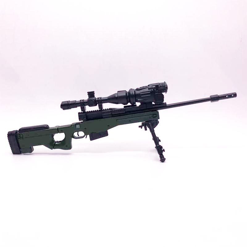 1:6 AWP Sniper Rifle 4D Assembly Gun Model Toy