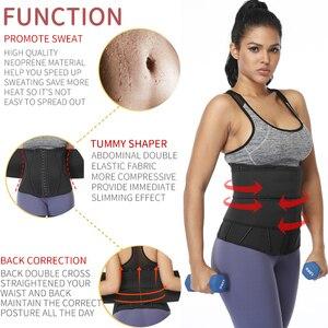 Image 3 - Корректирующий пояс для талии и живота, моделирующий пояс для снижения веса и похудения, корсет