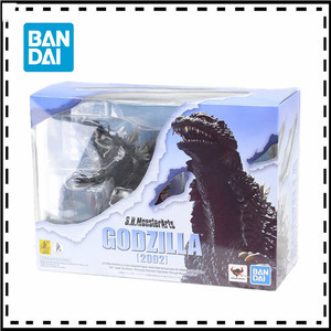 Originele Bandai Godzilla 2002 Tokyo Sos Shm S.H.Monster Arts 2019 Movie Godzilla2 Versie Shf Action Figure Collection Model Toy
