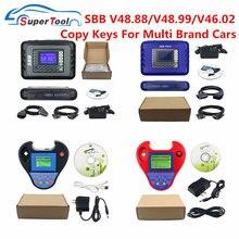 Último SBB Pro2 V48.99 V48.88 V46.02 Mini Zedbull Auto programador clave SBB Pro 48,99 2 48,88 Zed Bull OBD2 OBDII creador de llaves de coches