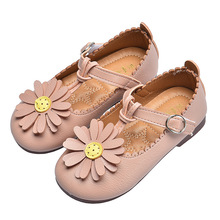 Spring Autumn baby girls shoes Kids shoes Girls children Flowers Princess Shoes Little girl soft sole Single Shoes 1-8years Old цена в Москве и Питере