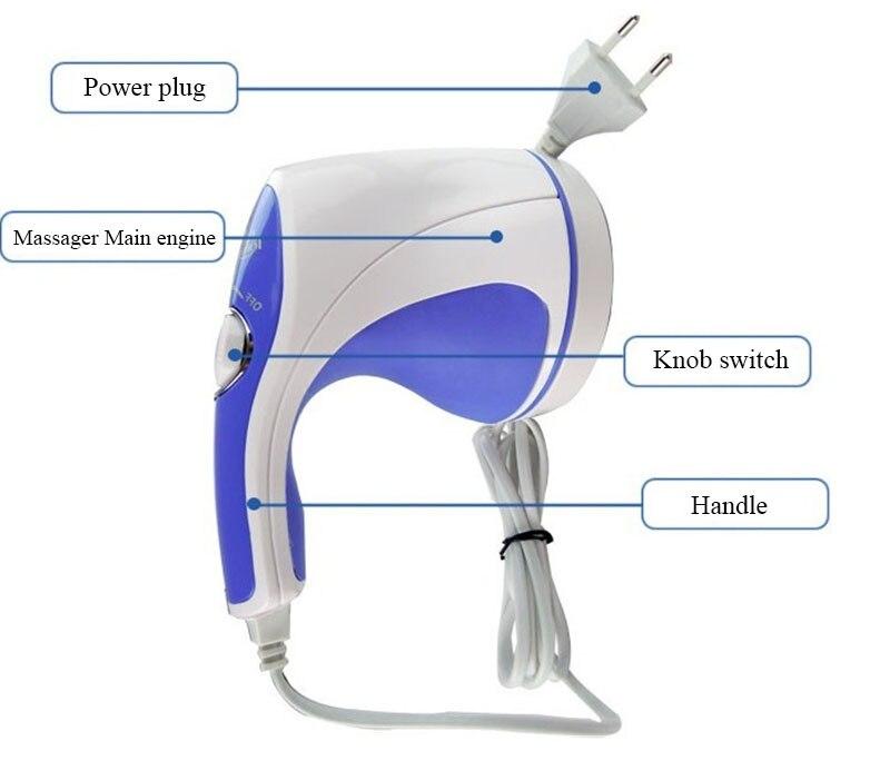 HANRIVER hohe qualität Fett massage maschine geschwindigkeit zu elektrische massager körper fett, gewicht zu verlieren massage gerät heißer verkauf