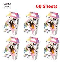 10-60 Fujifilm Instax mini 9 películas Fujifilm cámara instantánea 7 8 25 50s 90 sp-1 sp-2 Smartphone de la impresora de la foto Macaron