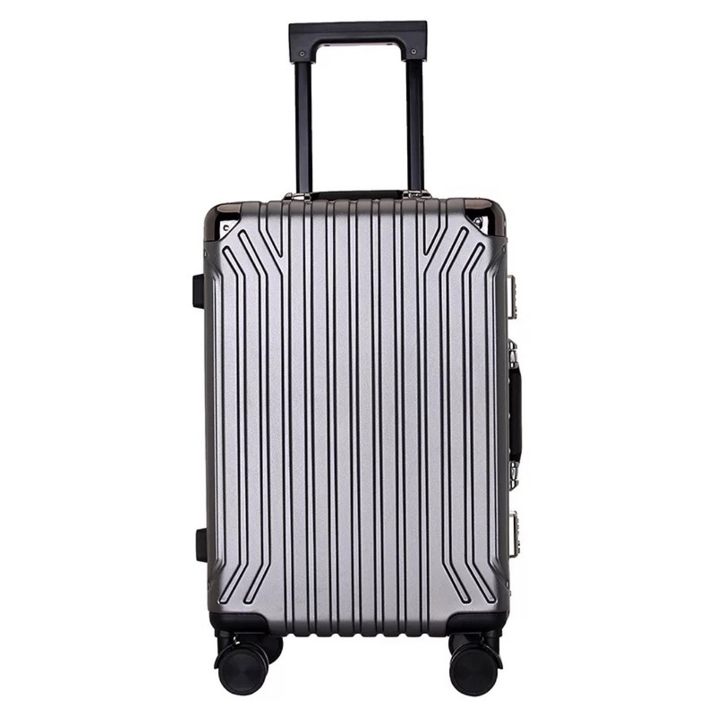 GALANODEL Travel Suitcase With Wheels Big Spinner Rolling Luggage Cabin Trolley Luggage Men's Suitcase Aluminum Frame Case