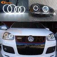 For Volkswagen VW Golf Rabbit Jetta GTI R32 MKV MK5 2005 2010 xenon headlight Ultra bright illumination CCFL angel eyes kit