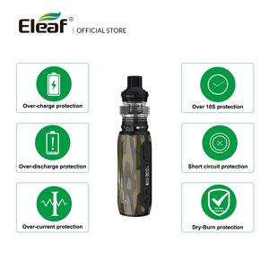 Image 2 - [FR] الأصلي Eleaf iStick ريم مع ميلو 5 عدة 80 واط ماكس 3000mAh المدمج في البطارية و EC M 0.15ohm رئيس السجائر الإلكترونية