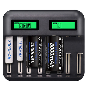 8 Slots LCD Display USB Smart