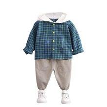 Хлопковая одежда для маленьких мальчиков; Сезон весна осень;