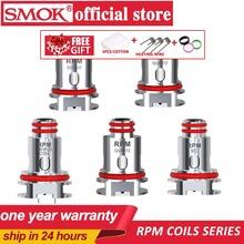 W magazynie 5 sztuk partia SMOK RPM cewki siatki 0 4ohm potrójne 0 6ohm kwarcowy 1 2ohm SC 1 0ohm rdzeń dla E papieros RPM40 Pod zestaw Vape tanie tanio RPM coils SMOK RPM40 Pod Vape DS Dual RPM mesh 0 4 ohm coil RPM triple coil 0 6ohm coil RPM SC 1 0ohm coil RPM Quartz 1 2ohm coil