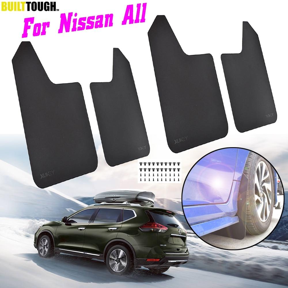 Universal Car Mudflaps Front Rear Nissan Almera Juke Micra Primera Mud Flap New