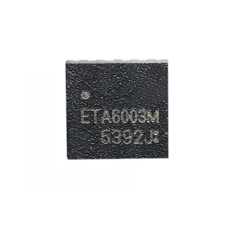 1pcs ETA6003 ETA6003Q3Q-T ETA6003Q3Q ORIGINAL ETA IC QFN16 NEW