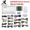 Идеальный CARPROG V8.21 онлайн версия добавить больше авторизации с Keygen Car Prog V10.93 V8.21 автоматический инструмент для ремонта ЭКЮ