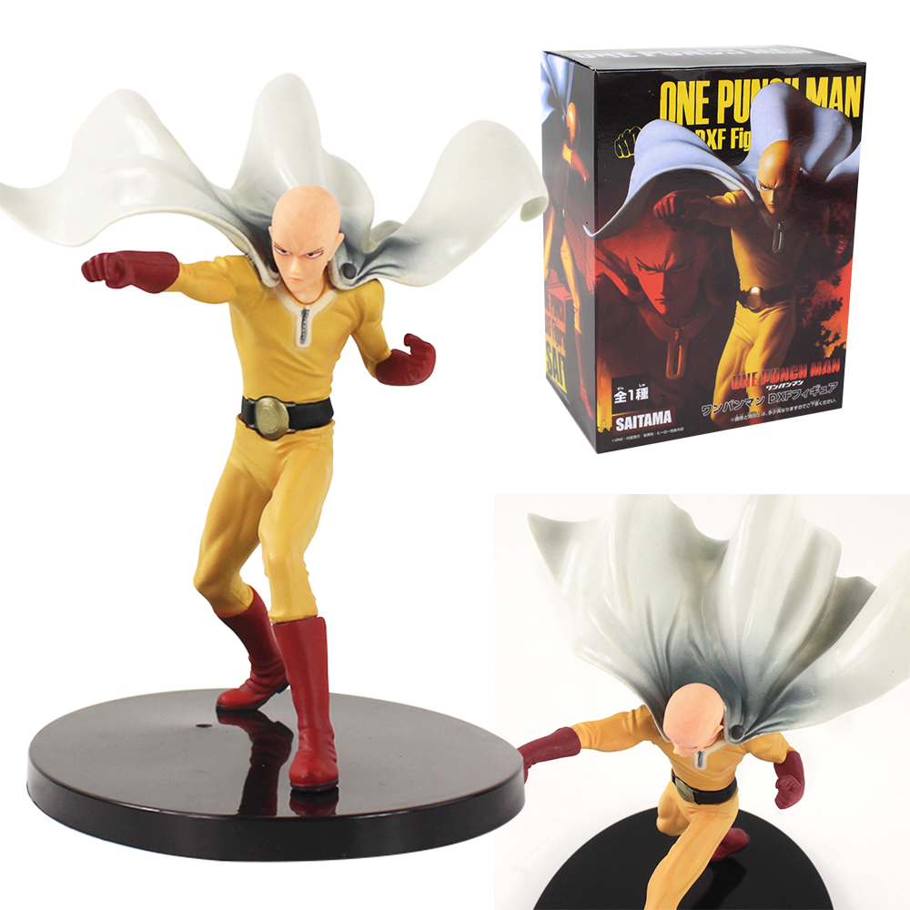 One Punch Man Saitama Hero Anime Action Figure Collectible Model Toy Gift 19cm