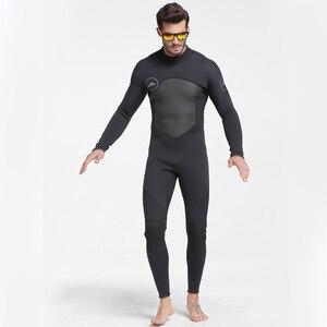Image 4 - Date 3mm néoprène combinaison hommes femmes maillot de bain équipement pour la plongée sous marine natation surf chasse sous marine costume Triathlon combinaisons