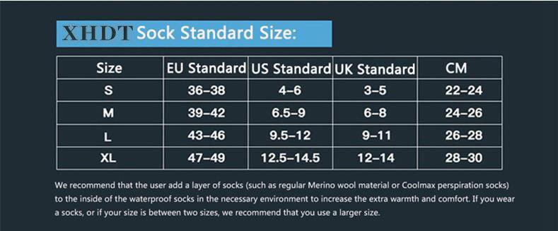 XHDT size chart ??