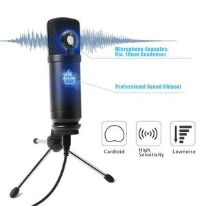 Image 4 - MAONO USB 마이크 Podcast 콘덴서 마이크 192kHz/24bit 전문 마이크 삼각대 스탠드 컴퓨터 유튜브