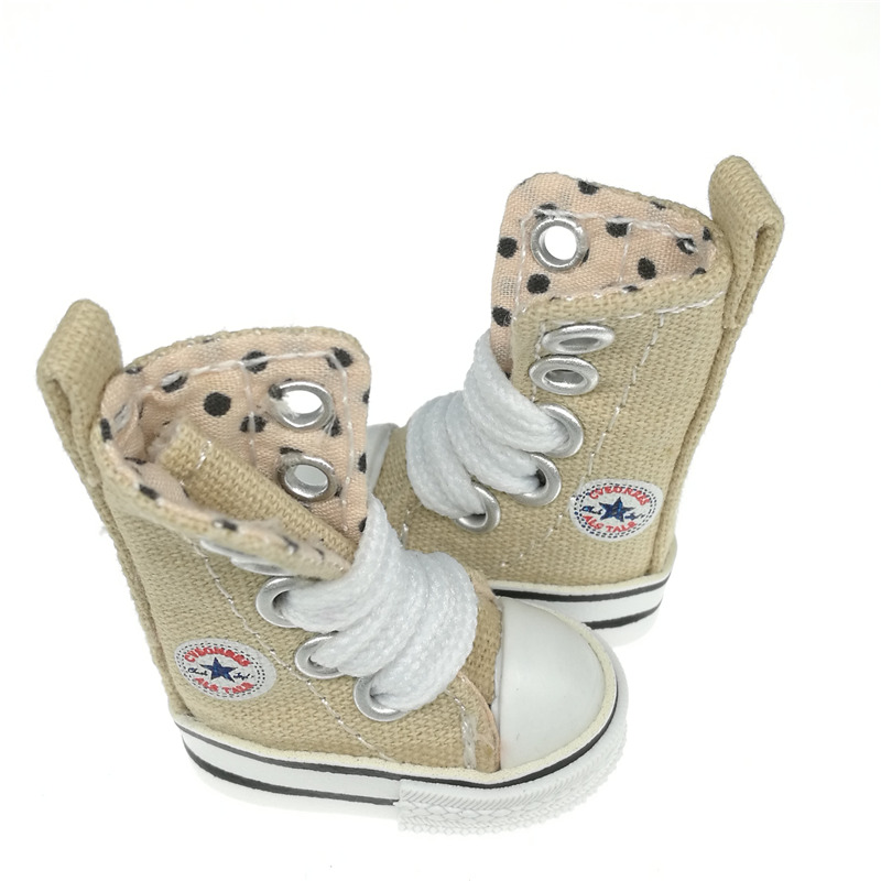 Tilda 4cm Blyth Doll Shoes Canvas Blyth Sneakers For Blythe OB24 BJD 1/8 Boots For KPOP Accessorries For EXO 15cm Dolls