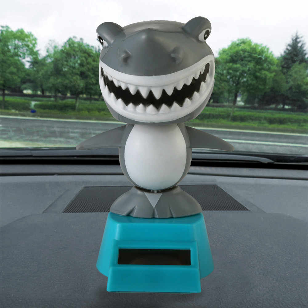 Car ornament Various Solar Powered Dancing Halloween Swinging Animated Bobble Dancer Toy Car Decor car accessories interior