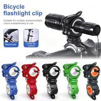 360 grad Rotation Einstellbar Bike Front Lampe Halterung Taschenlampe Halter Fahrrad Lenker Quick Release Licht Halterung Clamp Clip