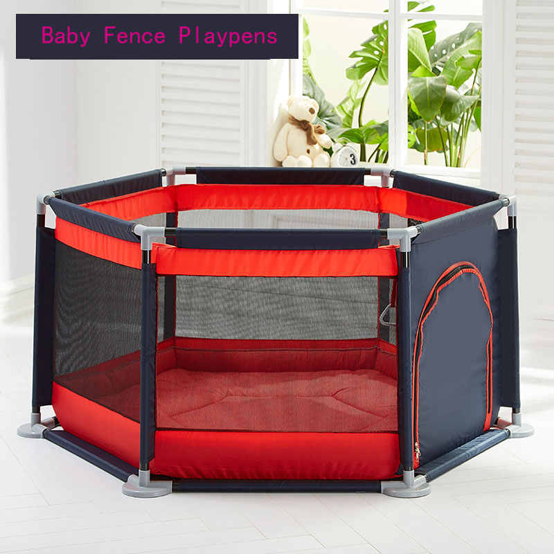 New High-end Baby Playpen Kids Safety Barrier Newborn Baby Fence Playpens Indoor Small Parent-child Interactive Amusement Park