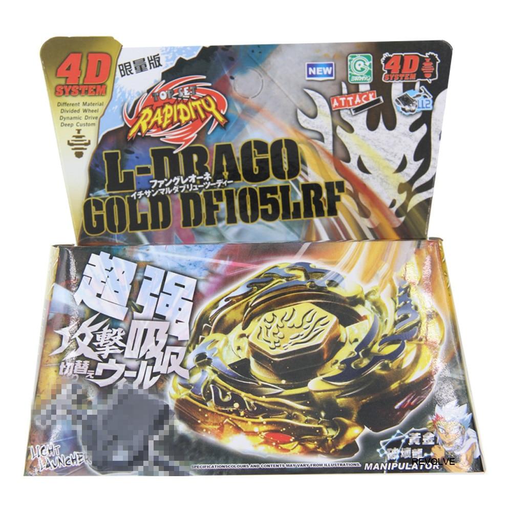 16 шт./лот Bayblade BB118 Фантом Орион B: D 4D система+ пусковое устройство - Color: GOLD