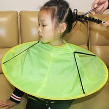 Kuulee детский мультяшный фартук для стрижки волос, верхняя одежда, водонепроницаемая накидка для стрижки волос с принтом, разноцветная мультяшная накидка 60 см в диаметре