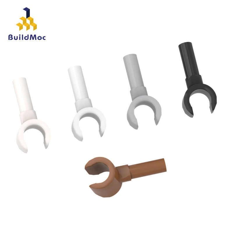 BuildMOC montuje cząstki 3820 Minifigure palce do klocków części DIY edukacyjne Creat