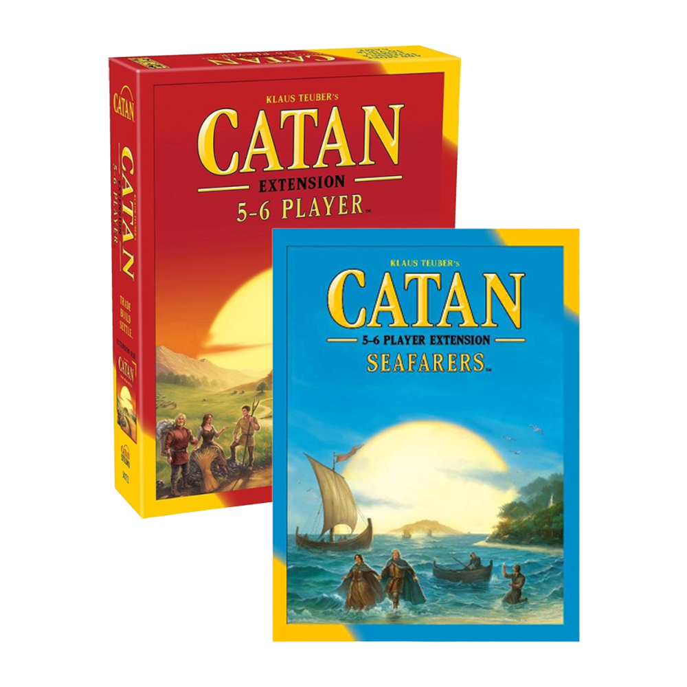 Hot Board Game Catan Extension 5-6 Player Party Family Funny Game Catan Strategy Boardgame