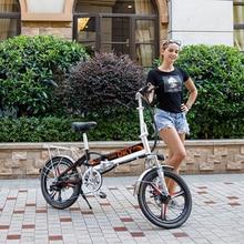 Electrical Bike Folding Mild Weight Mini 20 Inch Commute Ebike
