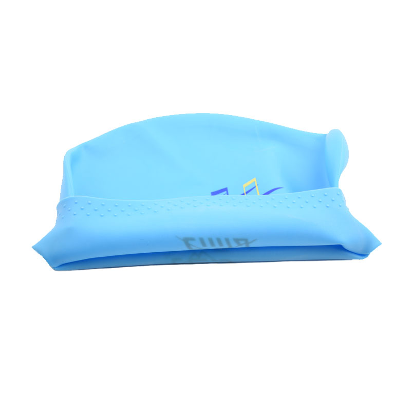 Women Swimming caps Silicone Super Large Long Hair Girls Waterproof Big Size Swim hat for Lady Diving Equipment Ear Cup Protect in Swimming Caps from Sports Entertainment