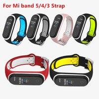 Für Mi Band 5 4 3 Sport Strap Ersatz Armband MiBand 3 4 Armband Handgelenk miband 5 Strap für xiaomi mi Band 4 5 3