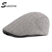 Sleckton 2021 модные шапки newsboy повседневные береты шапка