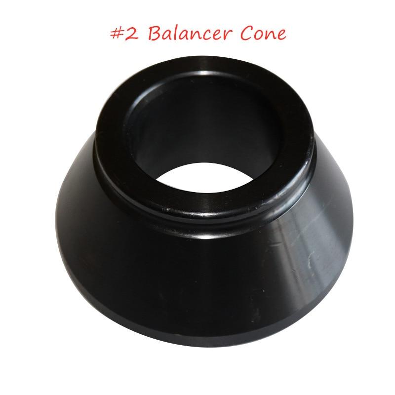 Best Selling Car Repair Adapter Parts No. 2 Rigid Cone Tire Wheel Balancer Balancer Steel Cone