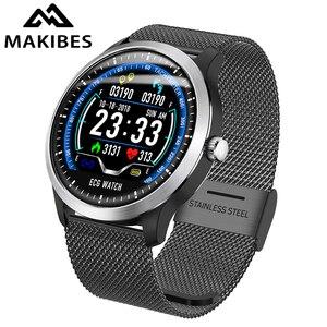 Makibes BR4 ECG PPG smart watc