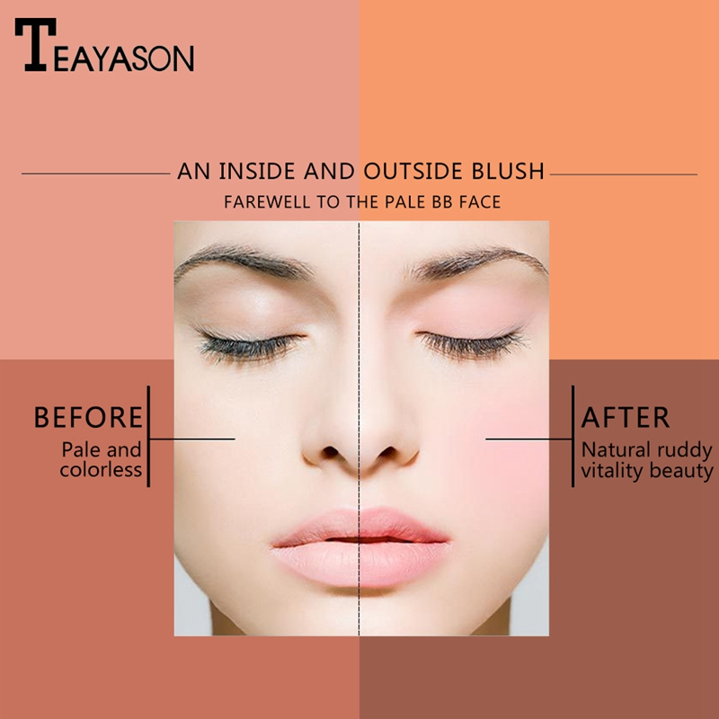 Teayason - An inside and outside Blush - Before and After