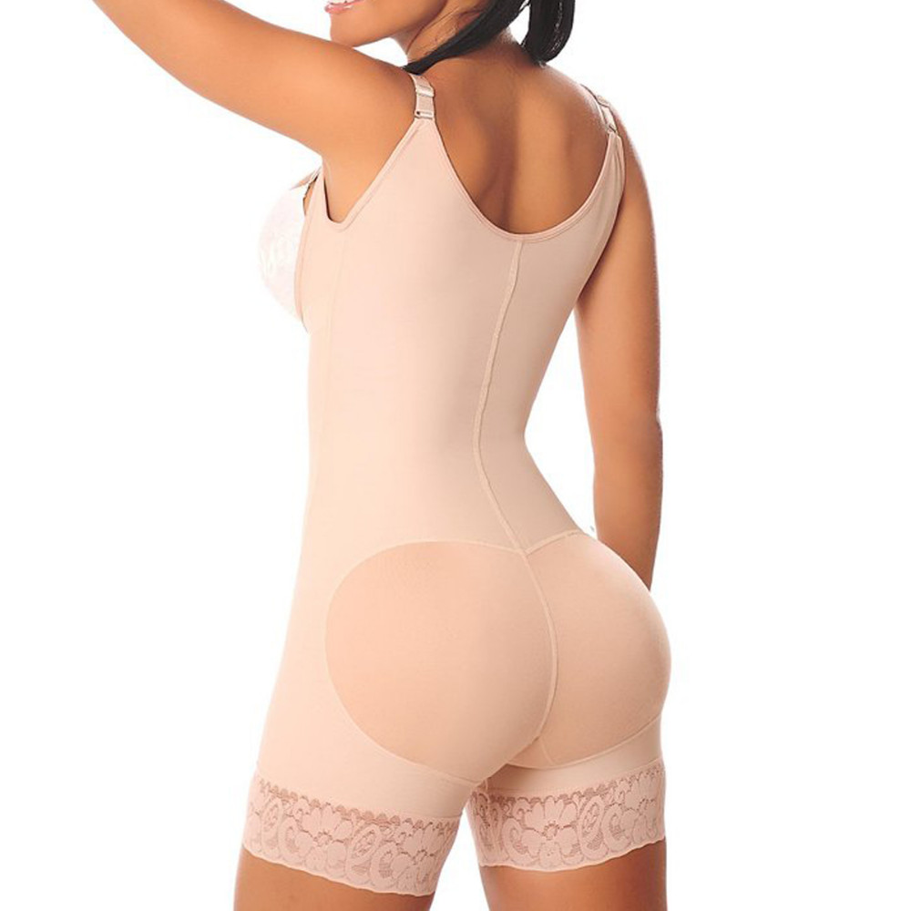 Vberry Reducing and shaping girdles woman Colombian post liposuction girdles latex body shaper shapewear women's vest