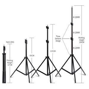Image 5 - Fotografie 50x70CM Softbox Beleuchtung Kits Weichen box für Flash Kontinuierliche Licht System Für Foto Studio Licht Equipmen ausrüstung