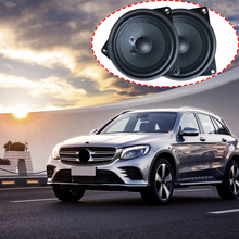 Door panel midrange speaker for Mercedes Benz W204 W205 W212 W213 W222 GLC C E S class loudspeaker audio HiFi sound stereo horn car subwoofer for benz c w205 glc e w213 s w222 series high quality speaker woofer under the seat automobile bass loudspeaker