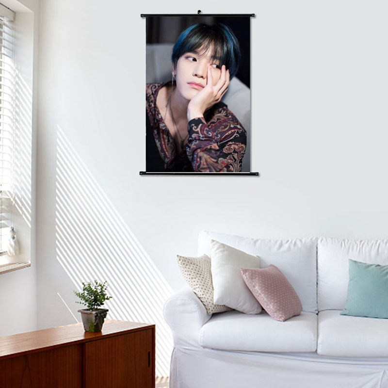 New Fashion NCT Kpop Group Photo Poster Kraft Paper/Wall Decor/Bar Poster/Decorative Painting/Retro Poster