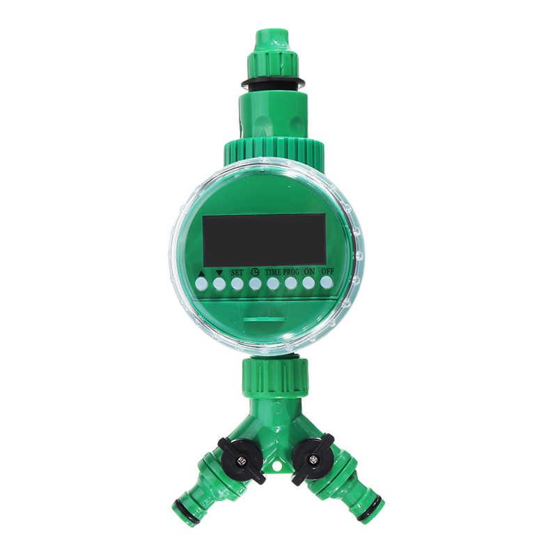 69 Pcs/set 20 M DIY Mikro Sistem Irigasi Tetes Selang Air Controller Timer Disesuaikan Drippers Otomatis Taman Air Kit