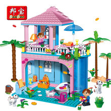 Banbao 8361 Friends Princess Castle House Villa Assemble Building Blocks Education Toy Blocks Girls Gift Compatible big brand(China)