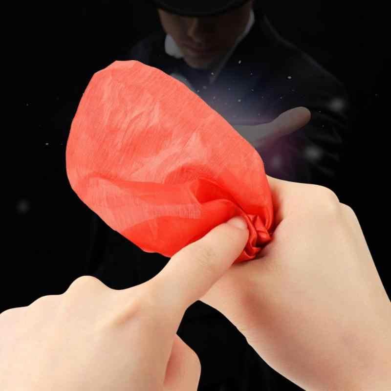 Parmak hileler sahne oyuncaklar komik Prank parti sahte başparmak sihirli hileler Hallucination sahne yakın Vanish görünen plastik parmak