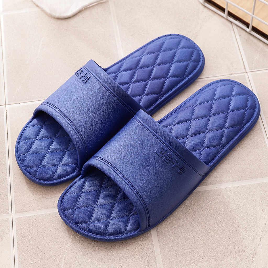 Slippers Men Summer Bathroom Flip Flops