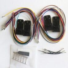 Zestaw 4 Accy wtyczka 16 Pin HLN9457 dla Motorola Maxtrac radia promień GM300 M100 M200 serii M1225 SM50 SM120 Repeater