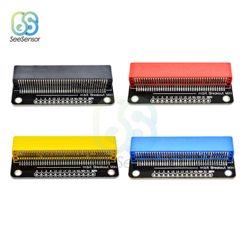 For BBC Micro:bit Microbit GPIO Expansion Board Breakout Adapter Shield Breakout Mini Module Development Board 3g module sim5320e development board gsm gprs expansion board quad band antenna for arduino